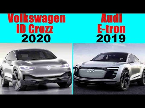 Volkswagen ID Crozz vs Audi E-tron Sportback   Concept Cars 2019-2020