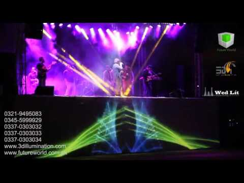 PROJECTION MAPPING | STAGE CONCERT | 3D ILLUMINATION & SOUND SHOW | PAKISTAN +92-300-5706013