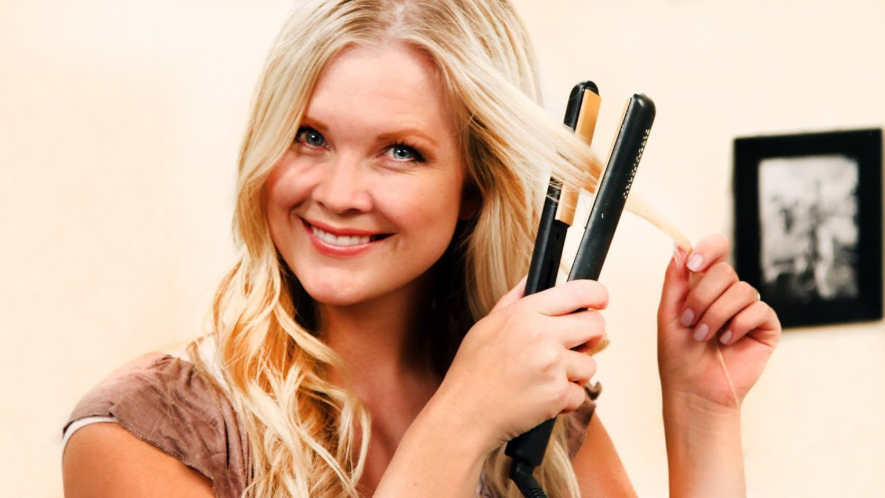 How To Get Beach Waves With A Flat Iron YouTube