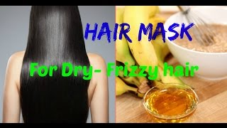 Miracle Hair Mask for Dry-Damaged-Rough-Frizzy Hair💓Banana Hair Mask💯Natural