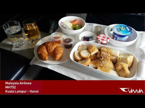 TRIP REPORT | Malaysia Airlines (BUSINESS) | Kuala Lumpur - Hanoi | Boeing 737
