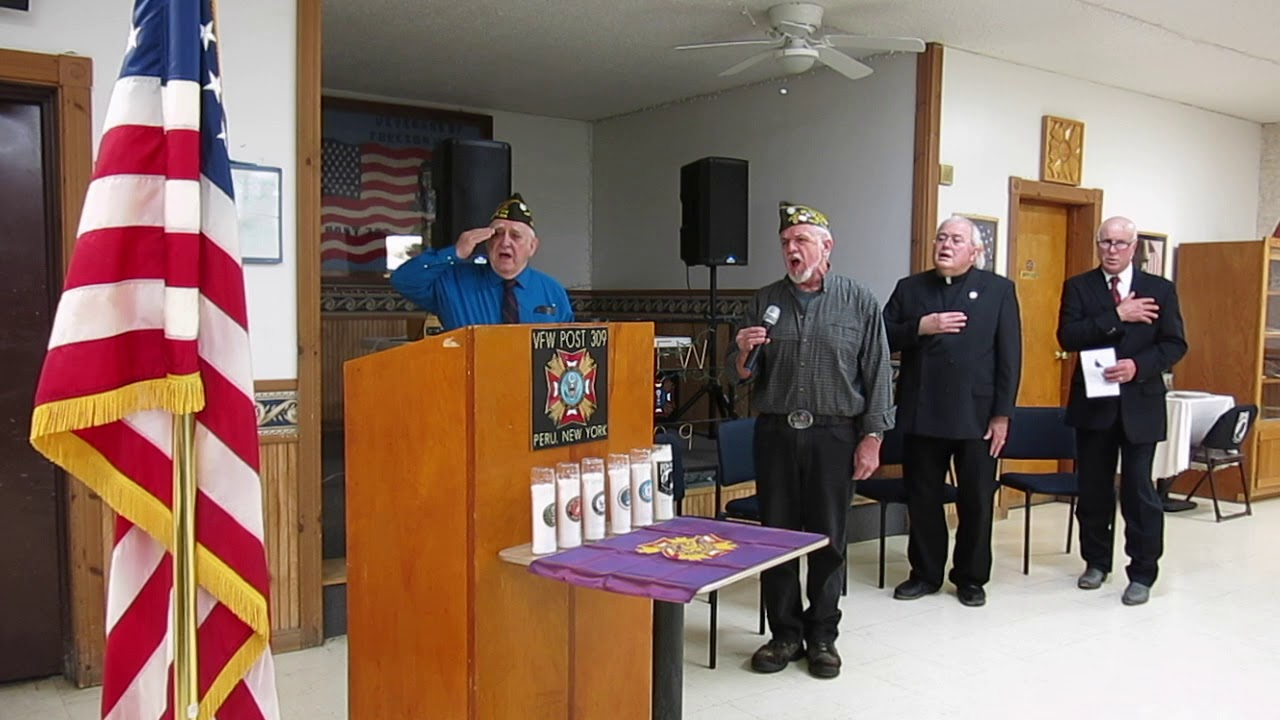 Veterans Day Service - Peru VFW Post 309  11-12-18