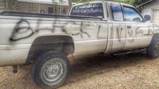 Man Trashes Own Truck, Blames Black Lives Matter