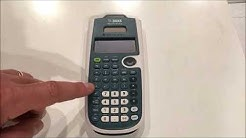 Calculator Tutorial - Intro to the TI-30XS Multiview