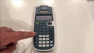 Calculator Tutorial - Inтro to the TI-30XS Multiview