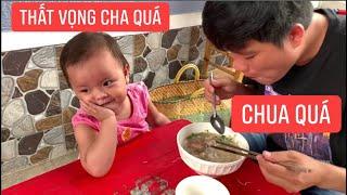 Khương Dừa ham ăn vắt chanh hủ tiếu chua lè cho con gái rượu khỏi ăn?
