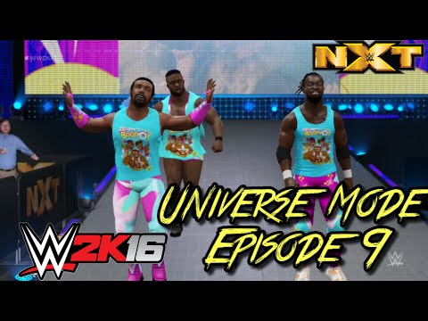 BOOTY O'S!! - WWE 2k16 Universe Mode Episode 9 (NXT Week 3)