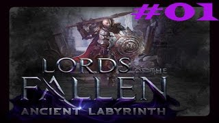 Gameplay/DLC «German Lords of the Fallen│Ancient Labyrinth» Teil 01│Freche Geister!