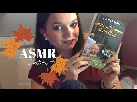 ASMR   Lecture chuchotée + Chewing-gum - Chapitre 1 : Grâce à l'amour d'un chat de Louise Booth ♡