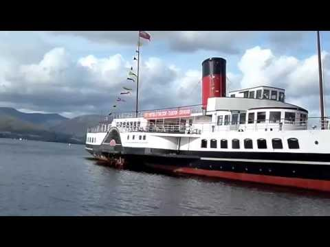 The 'PS Maid of the Loch', Balloch, Loch Lomond