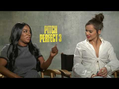 Pitch Perfect 3 Ester Dean & Hailee Steinfeld Interview