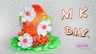 ПАСХАЛЬНОЕ ЯЙЦО подарок своими руками / Easter Egg  DIY/ Djuce Julia(, 2016-04-13T18:40:56.000Z)