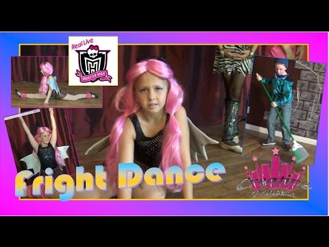 New Real Live Monster High | 'Fright Dance' - Creative Princess