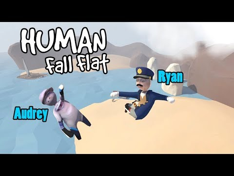SUCH A FUNNY GAME! | Human Fall Flat w/ RadioJH Games! | Mic