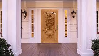 Indian Teak Wood Door Design