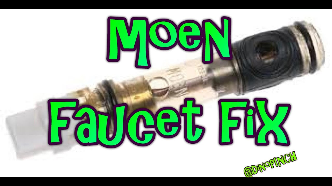 Single Handle Moen Faucet, 1225 Cartridge - YouTube