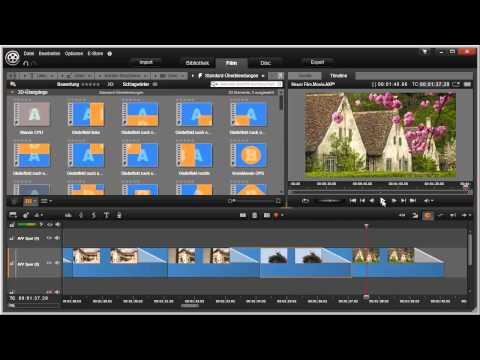 Einfache Diaschau mit Pinnacle Studio 16 und 17 Video 70 von 114