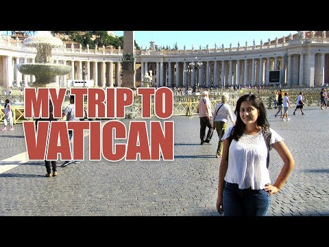 INDIAN GIRL ON EURO TRIP| VATICAN CITY - SMALLEST COUNTRY IN THE WORLD