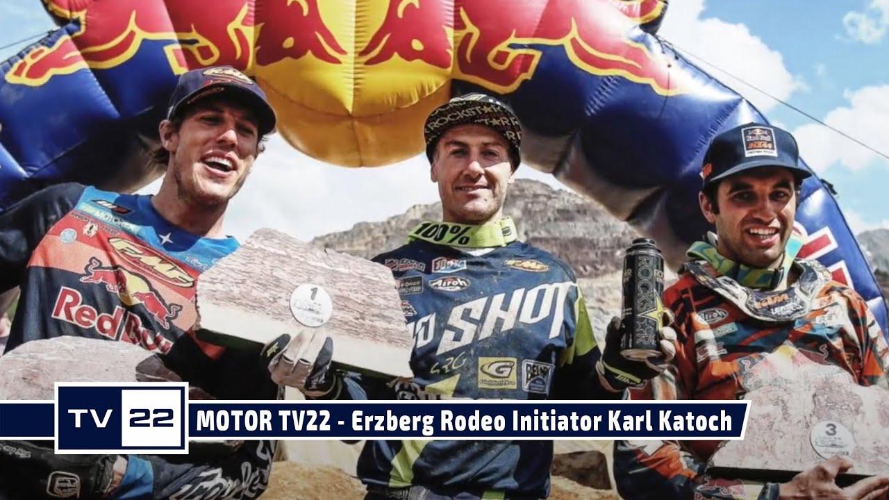 MOTOR TV22: Erzberg Rodeo Initiator Karl Katoch im Gespräch über den Austrian Junior Cup