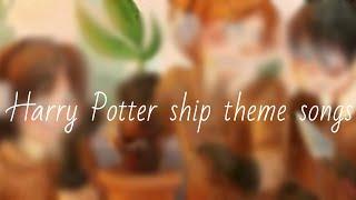 Harry Potter ship theme songs