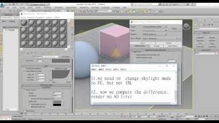 Comment faire de l'AO(Occlusion Ambiante) effet par 3DSMAX MENTAL RAY