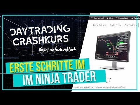 Erste Schritte im NinjaTrader 8, Demo Account einrichten (Daytrading Crashkurs Teil 1)