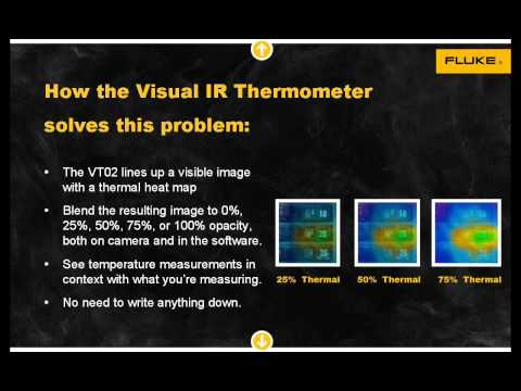 Five Temperature Measurement Problems That The New Visual IR Thermometer Solves
