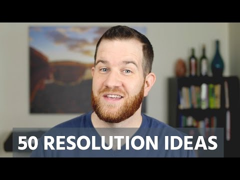 50 New Year's Resolution Ideas for 2017