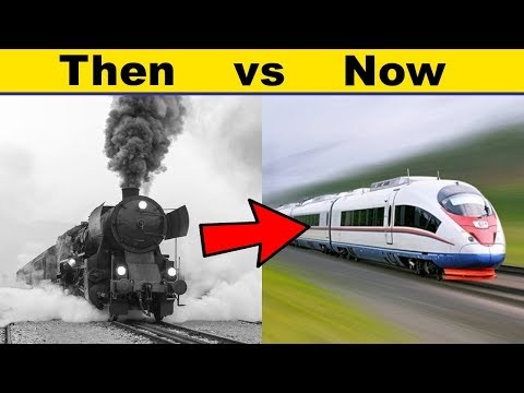 History of Rail Transportation Explained in 7 minutes