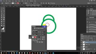 Lock icon making with photoshop