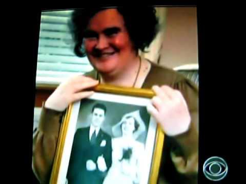 CBS news Susan Boyle interview quick clip at her h...
