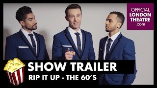 Aston Merrygold, Harry Judd & Louis Smith welcome Jay McGuiness to Rip Up The 60s in the West End!
