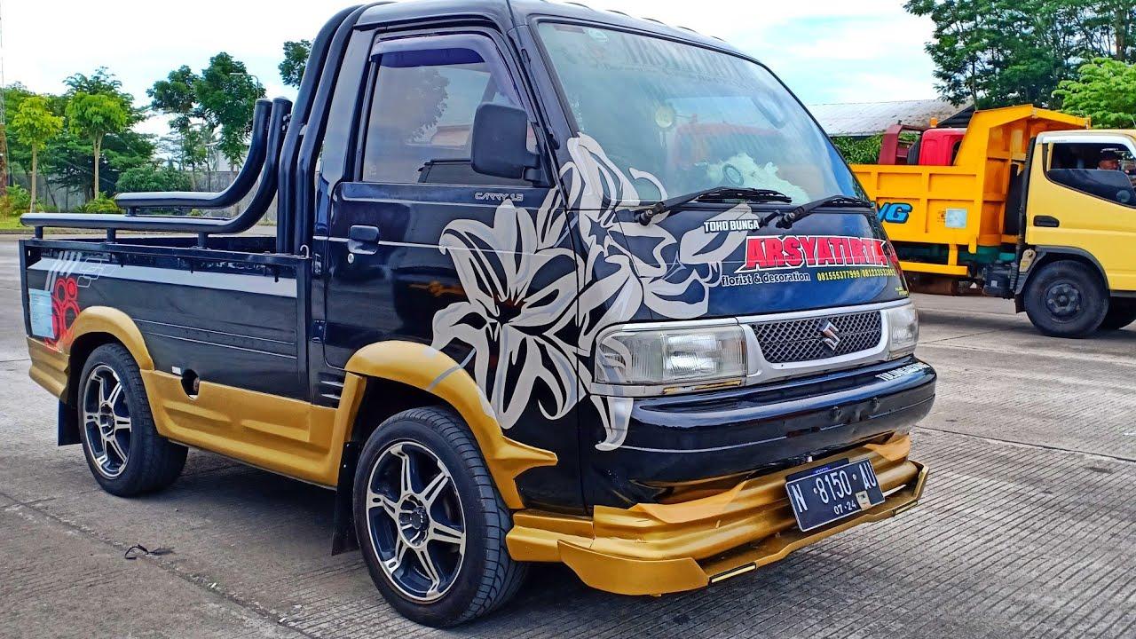Inspirasi Modifikasi Suzuki Carry 1 0 Minibus Yang Gaul