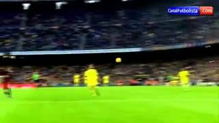 Gol de neymar contra o vilareal - 08/11/2015