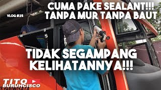 Video CARA PASANG KACA BUS YANG BARU | OH BEGINI TOH | VLOG #25 download MP3, 3GP, MP4, WEBM, AVI, FLV November 2018