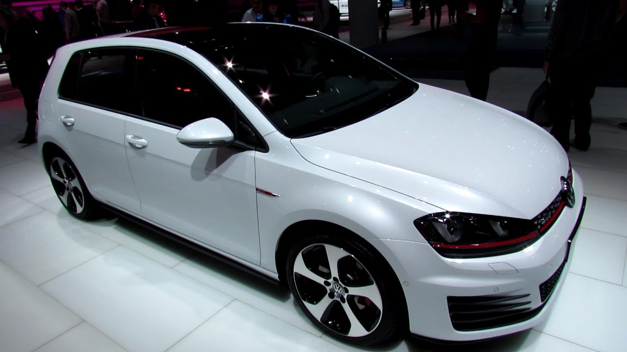 2014 Volkswagen Golf 7 Gti 4 Door Exterior And Interior