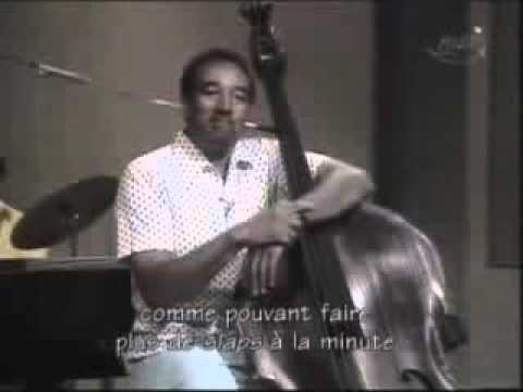 Ray Brown | Old upright bass technique