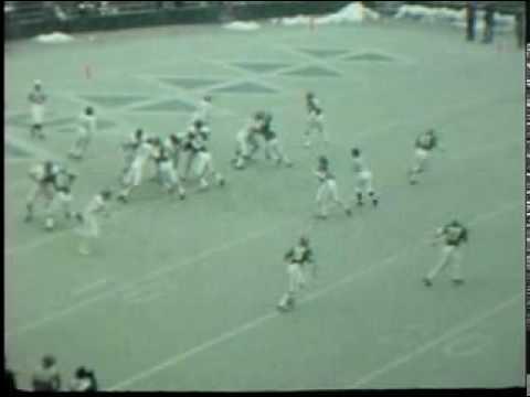 Northwestern TD Pass vs. Michigan State, 1972