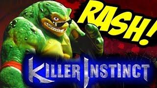Killer Instinct Season 3 Rash Double Ultra On All stages