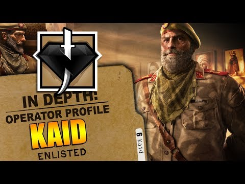 Rainbow Six Siege - In Depth: HOW TO USE KAID - OPERATOR PROFILE - TIPS AND TRICKS