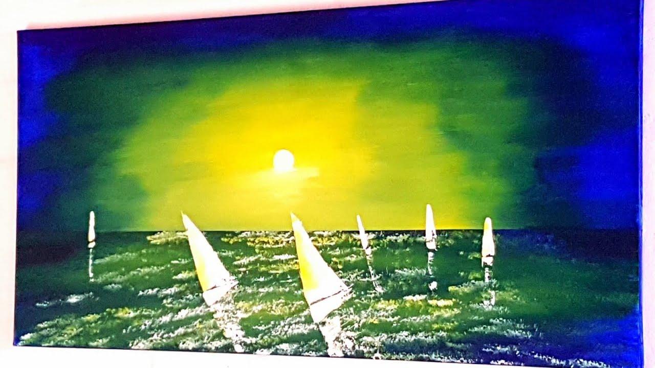 segelboot malen einfach  ausmalbilder