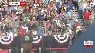 RSBN FULL SPEECH: President Trump's Salute to America Event from Washington, DC