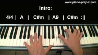Evanescence My Immortal Piano Tutorial