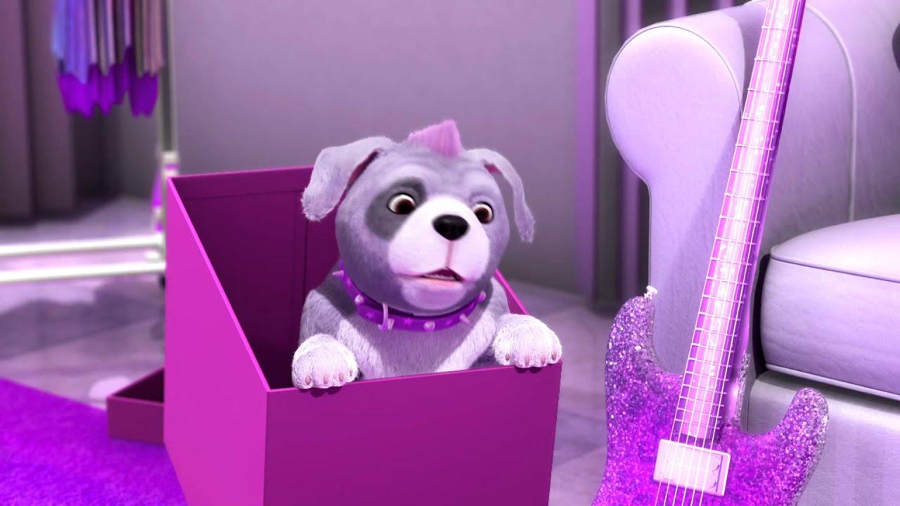 Barbie la princesse et la popstar clip musical youtube - Barbie et la princesse pop star ...