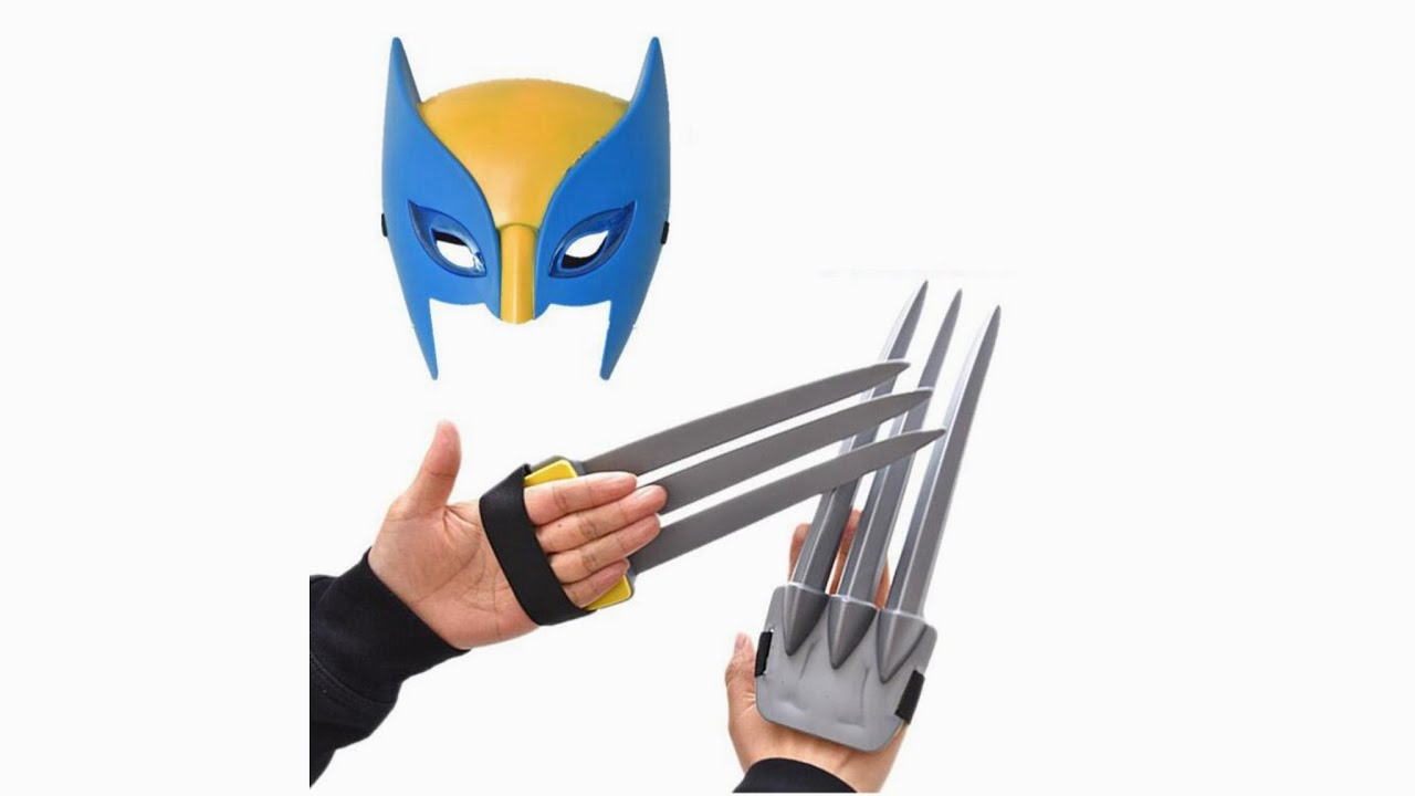 Wolverine 1 Plastic weapon accessories for toys claws X-Men Origins 1