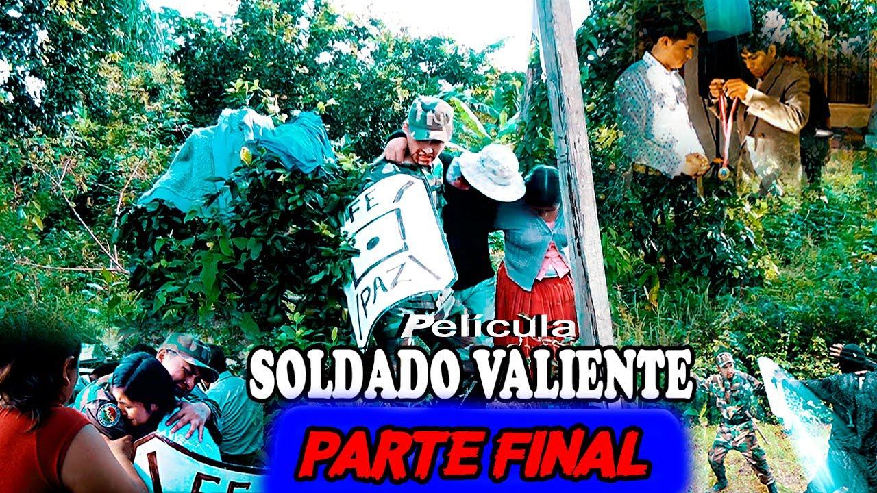 LLUVIA//PELÍCULA CÁNTARO SOLDADO VALIENTE// PARTE FINAL😢👍