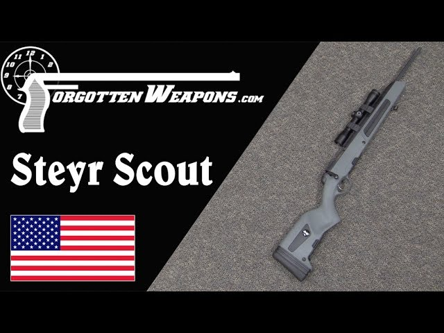 The Steyr Scout: Jeff Cooper's Modern Day Frontier Rifle