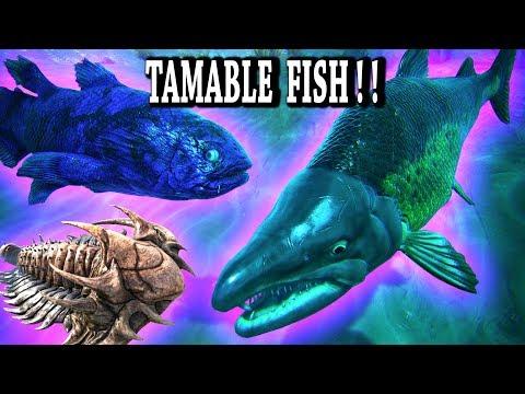🐟ARK TAMABLE FISH & TRILOBITE!! Ark Survival Evolved Aberration News!!