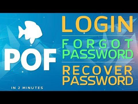 POF Login: Forgot POF Password   Recovery POF Password in 2 Min