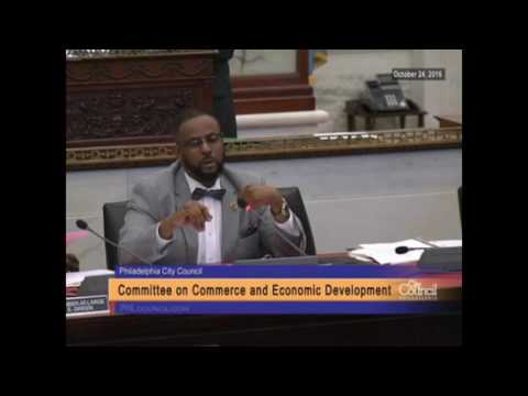 Committee on Commerce and Economic Development 10-24-2016